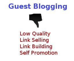 low quality guest blog post
